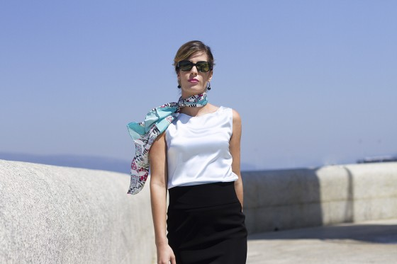 alba-lazarí-moda-foulard acquamarina