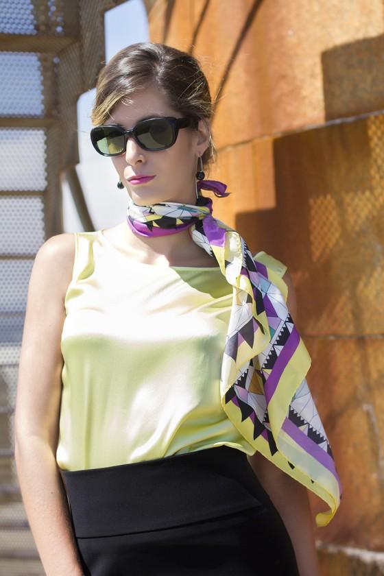 alba-lazarí-moda-foulard golden mist3